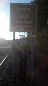 Jordan Koene at the River Jordan