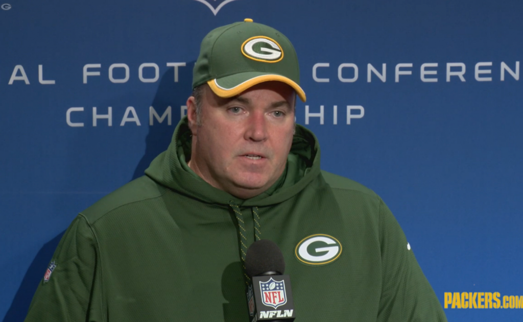 Mike McCarthy Seattle Loss